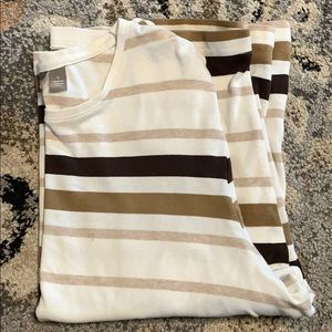 Croft & barrow 3/4 sleeve shirt